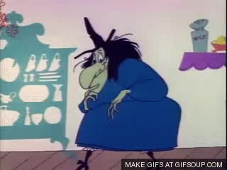 Watch and share Witch Hazel (Looney Tunes) GIFs on Gfycat