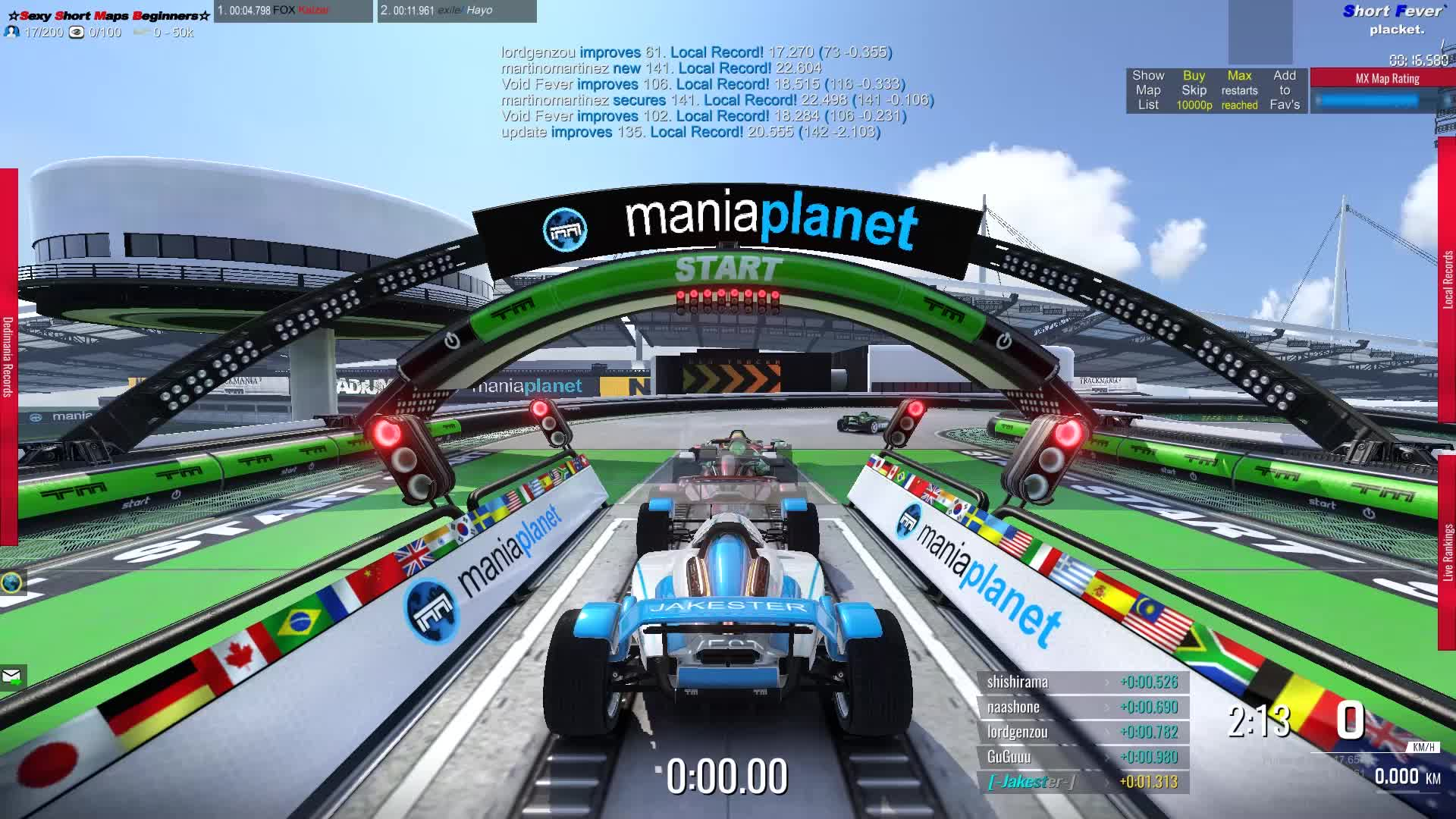 Trackmania ShortmapRun1 GIFs