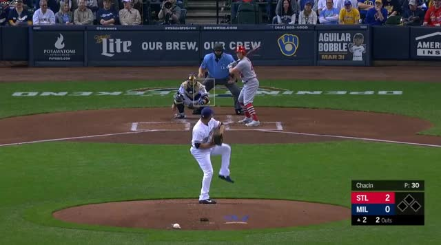 Watch and share Milwaukee Brewers GIFs and Baseball GIFs on Gfycat