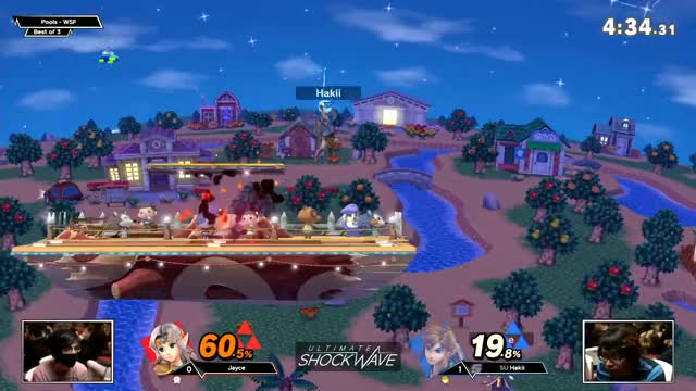 USW 22 - Jayce (Zelda) vs SU | Hakii (Link) Pools - WSF - SSBU