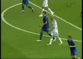 Watch and share Zidane Headbutt Materazzi GIFs on Gfycat
