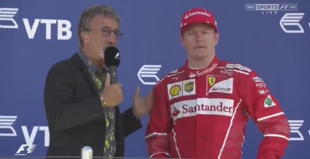 Watch and share F1 2017 Russian GP  Podium Interview - Bottas, Vettel And Kimi GIFs on Gfycat