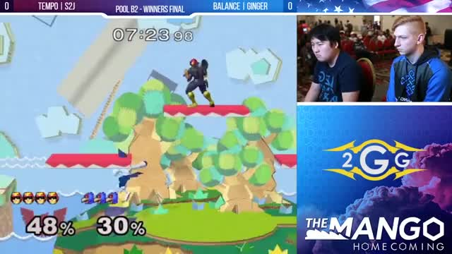 The Mango Homecoming - Tempo | S2J (Falcon) VS Ginger (Falco) - SSBM - Pools - Winners Final
