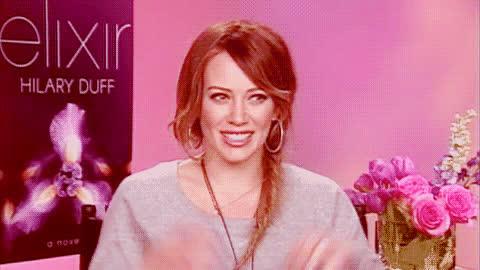 Hilary Duff Smile GIFs