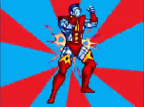 Arcade, amazing, annoying, colossus, eternity, loop, men, power, roar, shout, super, video, xmen, yell, Xmen Arcade: Colossus Yell 9 minute loop GIFs