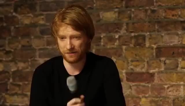 Watch and share Domhnall Gleeson And Will Poulter: The Revenant Cast Interview GIFs on Gfycat