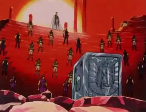 Watch Seiya gana la armadura de Pegaso GIF on Gfycat. Discover more related GIFs on Gfycat