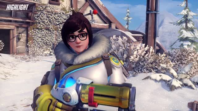 Watch and share Overwatch GIFs and Mei GIFs by impaled on Gfycat