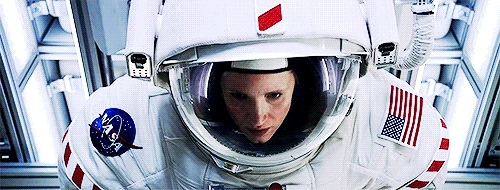 jchastainedit, jessica chastain, jessicachastainedit, mine, my wife, space, steviebucks, the martian, themartianedit, Jessica Chastain as Commander Melissa Lewis in The Martian GIFs