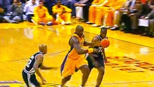 050903, 2000s, 2003 Playoffs, Basketball, Dunk, Los Angeles Lakers, NBA, Shaq, Shaquille O'Neal, gif, Shaquille O'NealLos Angeles Lakers GIFs