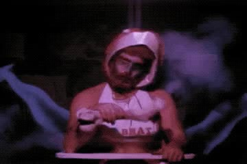 Watch 2018-04-15 23 44 10 GIF by Beyond the Beaded Curtain (@dirtyvhs) on Gfycat. Discover more brat, cafe flesh, dirtyvhs, high chair GIFs on Gfycat