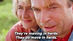 Watch and share Jurassic Park GIFs and John Hammond GIFs on Gfycat