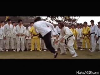 Baddest Fight Scenes EVER! - Enter the Dragon - vs. O'Hara GIFs