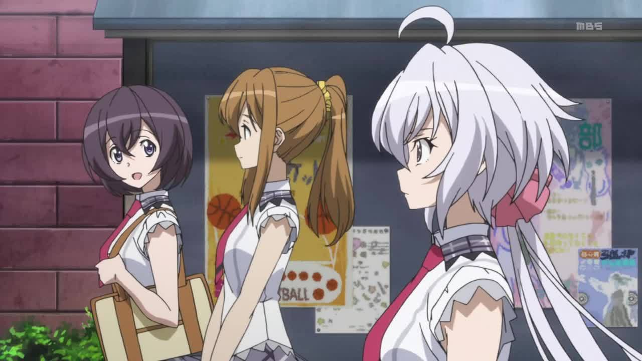 anime, wingsoflight, [Rewatch] [Spoilers] Senki Zesshou Symphogear GX: Believe in Justice and Hold a Determination to Fist. - Episode 1, Season 3 Premiere (reddit) GIFs