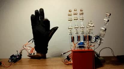 Watch 6 dof animatronic hand GIF on Gfycat. Discover more related GIFs on Gfycat