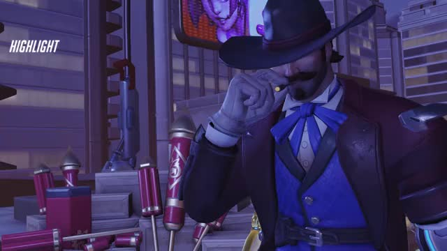Watch and share Highlight GIFs and Overwatch GIFs by gambiosaurus on Gfycat