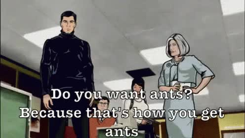 Watch and share Archer Erect GIFs on Gfycat