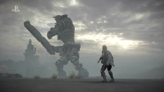 Watch and share Shadow Of The Colossus E3 2017 Reveal Trailer GIFs on Gfycat