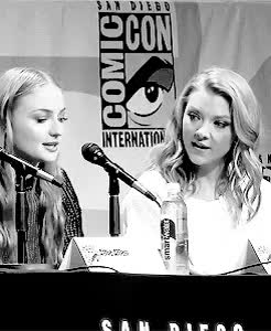 Watch and share Natalie Dormer GIFs and Sophie Turner GIFs on Gfycat