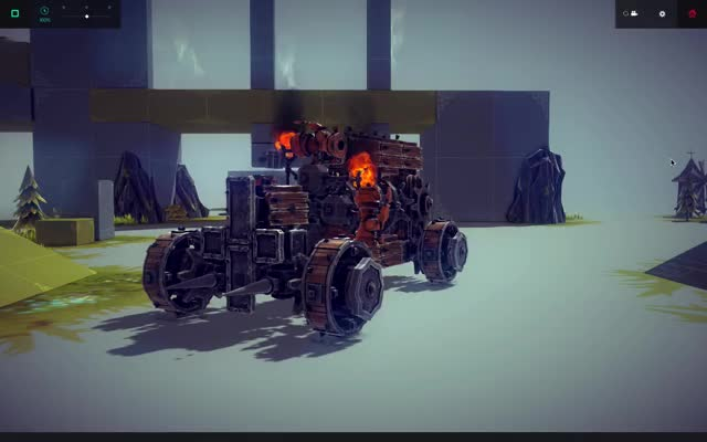 Watch and share Besiege GIFs and Gaming GIFs by dragoniroh on Gfycat