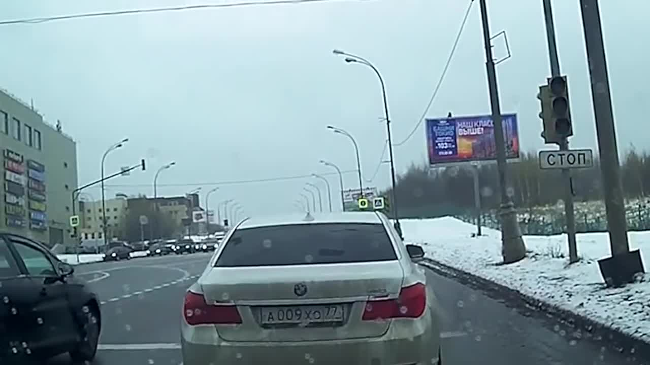 car, car in winter, cars, driver, drivers, speed, start, truck, trucks drivers, winter roads, How To Not Drive Your Car in Winter 2019 part 3 GIFs