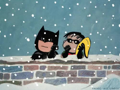 Watch this batman GIF by GIF Queen (@ioanna) on Gfycat. Discover more batman, bff, cute, friend, look, nature, robin, romantic, snow, snowing, together, winter GIFs on Gfycat