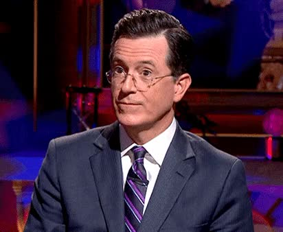 Watch and share Stephen Colbert GIFs by Reactions on Gfycat