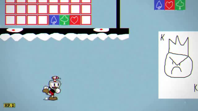 """Watch and share Cuphead - Unfinished """"Card"""" Boss GIFs on Gfycat"""