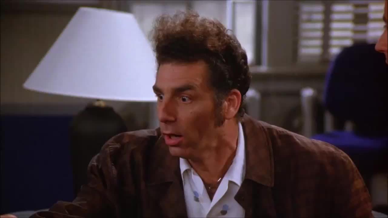 gasp, gasping, highqualitygifs, kramer, michael richards, omg, seinfeld, shocked, Kramer gasping GIFs