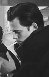 Watch and share Black And White Gif GIFs and Bill Skarsgård Gif GIFs on Gfycat
