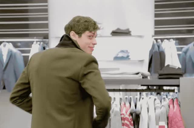Watch this pete davidson GIF by GIF Queen (@ioanna) on Gfycat. Discover more cool, davidson, doing, eye, flirt, france, hello, hey, how, live, night, pete, queer, saturday, shop, snl, tan, there, turn, you GIFs on Gfycat