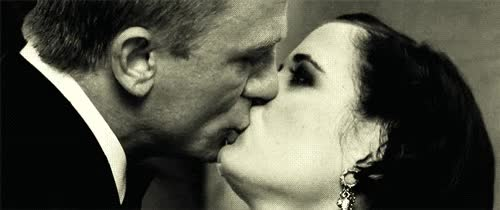 Watch and share Daniel Craig GIFs and Eva Green GIFs on Gfycat