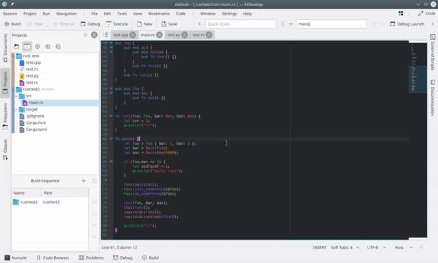 Watch KDevelop Rust Debugging GIF on Gfycat. Discover more related GIFs on Gfycat