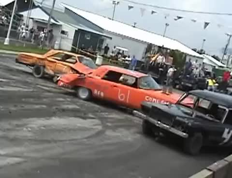 Watch and share Demo Derby Gif GIFs and Classic Cars GIFs on Gfycat