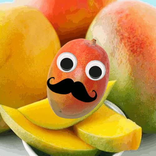 Watch and share Mango, Mangoes, Mustache GIFs on Gfycat