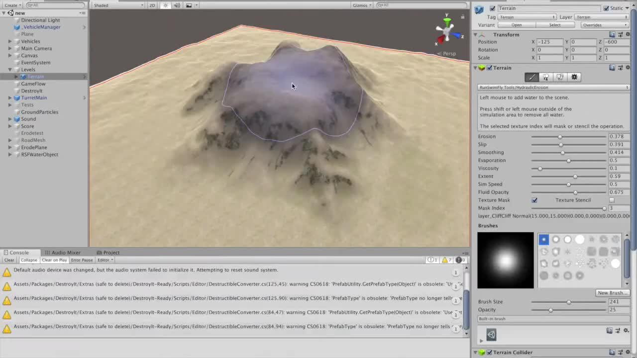 Unity Terrain Tools