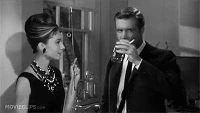 Watch and share Cigarette Holder GIFs and Black And White GIFs on Gfycat