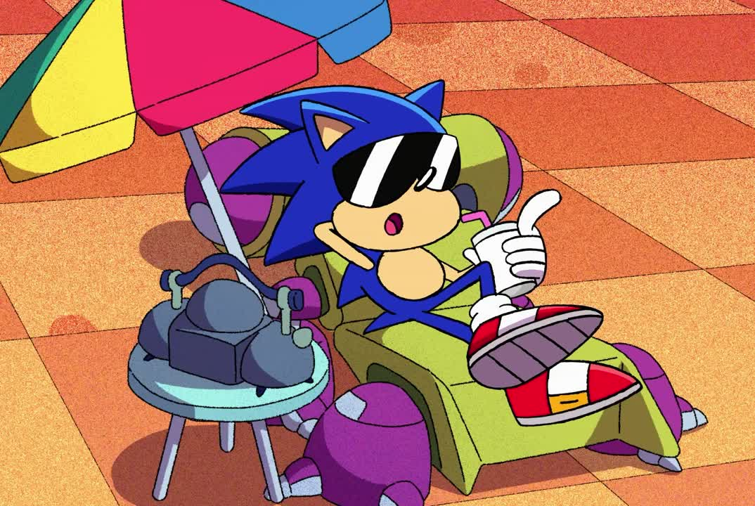 Sonic Is Relaxing Gif By I Am The Gif T Gfycat
