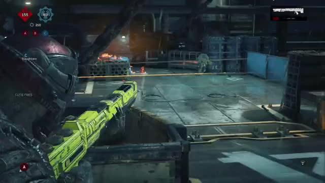 Watch Gears 4 GIF by Xbox DVR (@xboxdvr) on Gfycat. Discover more GearsofWar4, Shrekmin, xbox, xbox dvr, xbox one GIFs on Gfycat