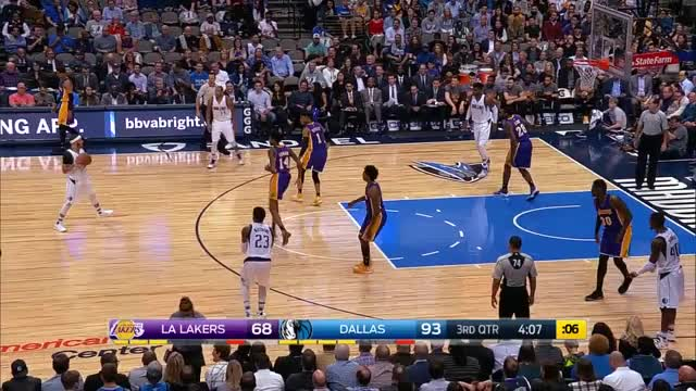 Watch and share Seth Curry Pull Up 3 Plus Foul Vs Lakers 17.03.07 (02) GIFs by dirk41 on Gfycat