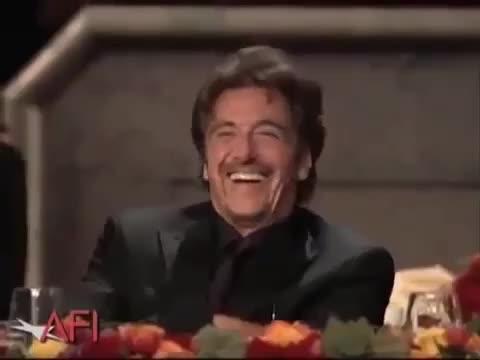 al pacino, funny, laughing, lol, al pacino lol GIFs