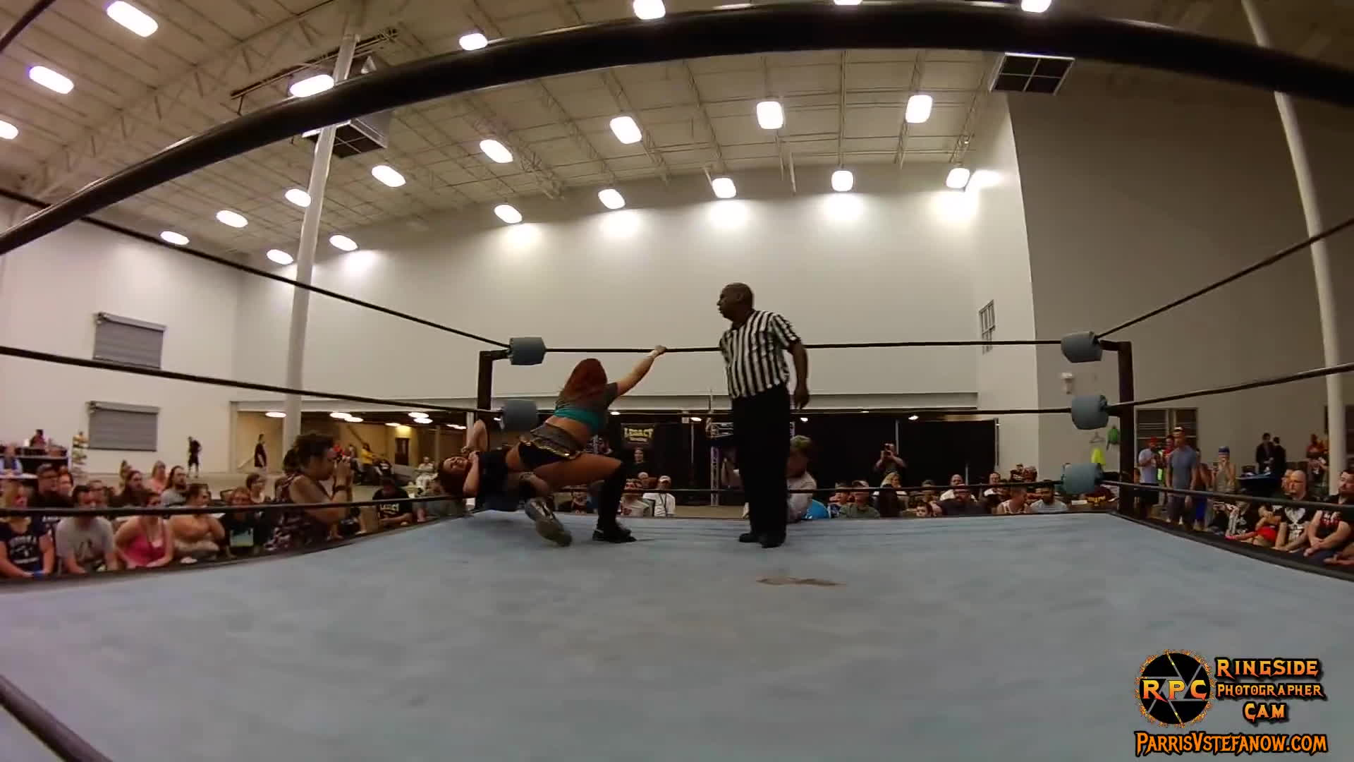 mickie james, parris v stefanow, ringside photographer cam, Veda Scott GIFs