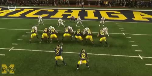 Watch Patterson TD Run GIF by MGoBlog (@mgoblog) on Gfycat. Discover more 2018, Football, Michigan, Shea Patterson, Wisconsin GIFs on Gfycat