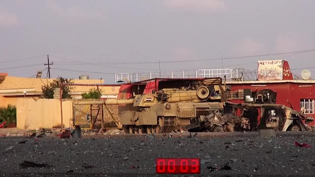 Watch and share M1 Abrams Blown Up By Daesh In Iraq. (reddit) GIFs by forte3 on Gfycat