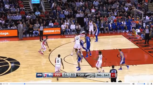 Watch and share Poeltl With Wright, VanVleet GIFs by blakemurphyodc on Gfycat