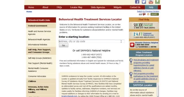 Watch SAMHSA Behavioral Health Treatment Services Locator GIF on Gfycat. Discover more related GIFs on Gfycat