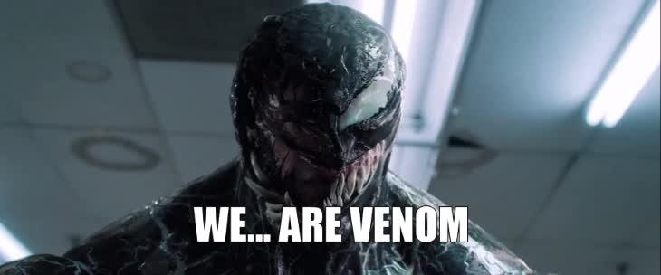 tom hardy, venom, We Are Venom Tom Hardy GIFs