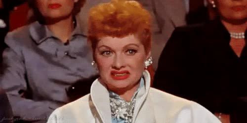 Watch You're wearing the same undies you bought . Those bargain bin G strings you got on clearance at the mall on spring break? Pass. GIF on Gfycat. Discover more lucille ball GIFs on Gfycat