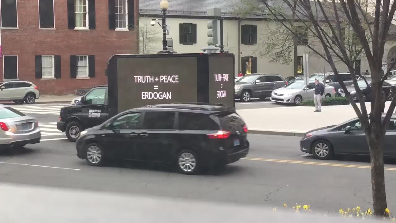 ChapoTrapHouse, Cyberpunk, In case you didn't see it before, this is the Erdogan propaganda truck from earlier this year (reddit) GIFs