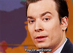 jimmy fallon, Youre welcome m GIFs